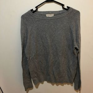 Gray Forever 21 Crew neck Sweater